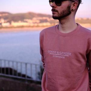 Dusty Pink 2-Goose-&-Gander-Downings